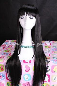 Puella Magi Madoka Magica Homura Akemi Cosplay Wig,Puella Magi Madoka Magica Cosplay Wig,human hair wig