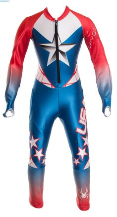 Spyder Boys Performance GS Race Red White Blue USA