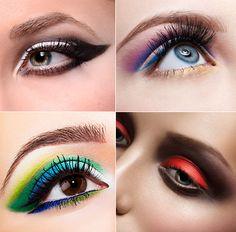 Make-up Trends 2015: Farbige Smoky-Eyes und Lidstriche kommen groß raus