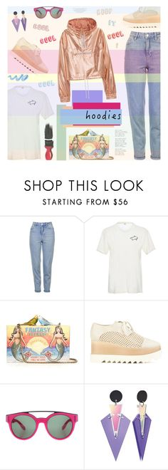 """Heads Up! Cute Hoodies!"" by bklana ❤ liked on Polyvore featuring Topshop, Bliss and Mischief, Sarah's Bag, STELLA McCARTNEY, Givenchy, Avon, Toolally and bklana"