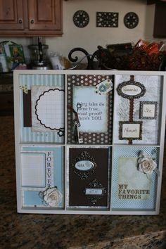 7 gypsies memory tray ideas | Gypsies Tray - Scrapbook.com
