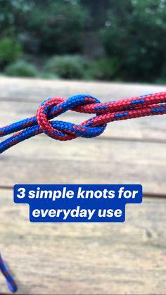 Survival Knots, Survival Tips, Survival Skills, Paracord Knots, Rope Knots, Tying Knots, Fishing Knots, Fishing Reels, Sailing Knots