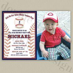 AllStar Baseball  Printable Birthday Party by doubleudesign, $16.00