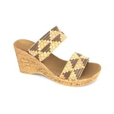 6fbddfba0b1f7d Womens Shoes   SANDAL   Wedge   Onex Mahalo Wedge Brown Natural Weave