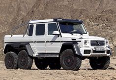 Mercedes 6x6  I think I liked the black one better