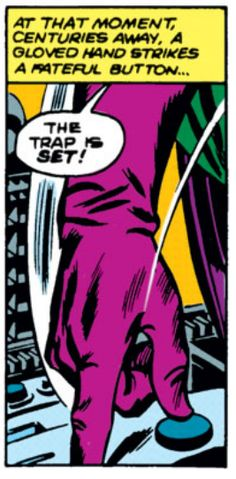 "Avengers #23, Kang, ""The Trap Is Set!"" #ControlButton"