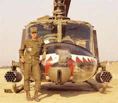 Bell UH-1 Huey Gunship - 174th AHC (Assault Helicopter Company), Vietnam.