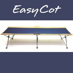 With no loose pieces to lose or misplace, the EasyCot is the simplest and fastest cot to set up on the market. Solo Camping, Camping Cot, Glamping, Guest Bed, Metal Bar, Steel Frame, Maine, Storage, Simple
