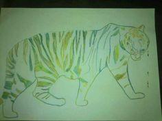 A rainbow tiger