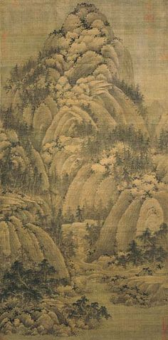 Juran, Seeking the Tao in the Autumn Mountains. Northern Song dynasty, 10th century