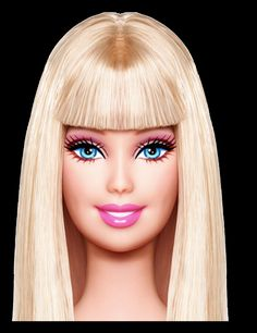 Barbie+Face.png (1231×1600)