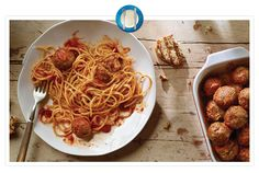 Italian Meatballs - You haven't made meatballs until you've made them with Jimmy Dean® Pork Sausage. This is a tastier way to make your classic spaghetti and meatballs. Meatball Recipes, Sausage Recipes, Pork Recipes, Pasta Recipes, Cooking Recipes, Yummy Recipes, Italian Dishes, Italian Recipes, Italian Bread