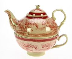 TEA SET: Tea-for-One Klassiek (Teapot+Cup) ___________________________ Reposted by Dr. Veronica Lee, DNP (Depew/Buffalo, NY, US)
