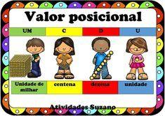 Cartaz valor posicional - Atividades Adriana