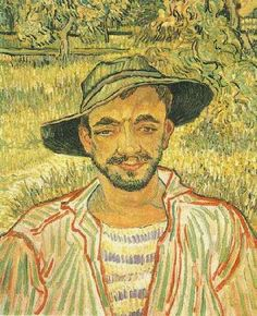 Portrait of a Young Peasant, Saint-Remy - 1889