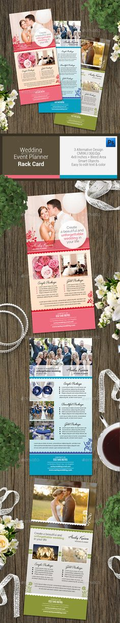 Simple Wedding Planner Flyer  Psd Flyer Templates Simple