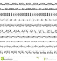 Resultado de imagen para doodle borders