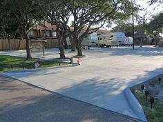Rockport Central RV Park In Texas