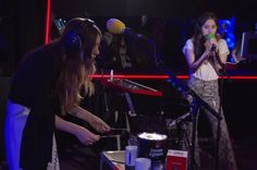 "Los Angeles-based rock band HAIM performed Selena Gomez's ""Bad Liar"" and their latest song ""Want You Back"" on the BBC Radio 1 Live Lounge."