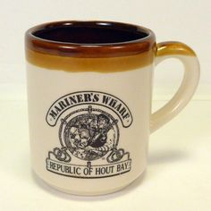 Mariners Wharf Republic Of Hout Bay Cape Town South Africa Coffee Cup Diner Mug #Unbranded