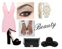 """""""Beauty"""" by pamela-m-z on Polyvore featuring moda, Boohoo, Charlotte Russe, Chanel y Eugenia Kim"""