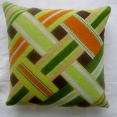 New Pillow made from Vintage Needlepoint