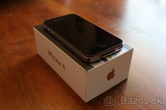 Apple iphone 4-32GB black - 1