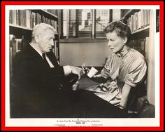 "KATHARINE HEPBURN & SPENCER TRACY in ""Desk Set"" Original vintage Photo 1957"