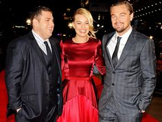 Star Tracks: Monday, January 13, 2014 | TRIPLE THREAT  | There are smiles all around for Jonah Hill, Margot Robbie and Leonardo DiCaprio, who head across the pond to London to premiere The Wolf of Wall Street on Thursday.