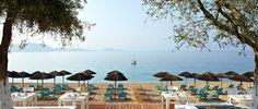 Lichnos Beach, Parga, Greece Top Hotels, Greece, Patio, Beach, Outdoor Decor, Home Decor, Greece Country, Decoration Home, The Beach