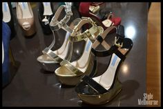 If you're going to do a platform in a  season of sleek stilletos; the new heel shape for Spring Summer.