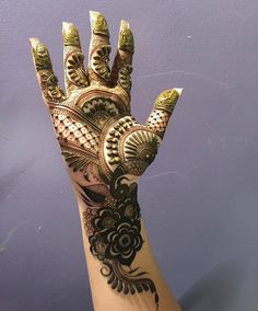 Mehndi design makes hand beautiful and fabulous. Here, you will see awesome and Simple Mehndi Designs For Hands. Modern Mehndi Designs, Mehndi Designs For Girls, Wedding Mehndi Designs, Dulhan Mehndi Designs, Mehandi Designs, Legs Mehndi Design, Mehndi Design Pictures, Beautiful Mehndi Design, Mehndi Images