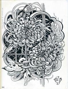 Irina Vinnik's Sketchbook 2014