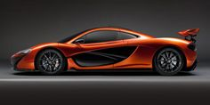The Fantastic McLaren P1 in orange bronze!