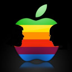 It Takes Two Steves to Make Apple [Logo]   Cult of Mac
