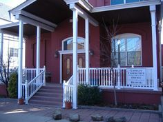 T Rail vinyl railing systems with turned balusters, turned newel posts and vinyl column covers. Vinyl Railing, Deck Railings, Column Covers, Newel Posts, Aesthetic Value, Decks, Porch, Stairs, Outdoor Decor