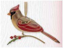 2010 Lady Cardinal Limited Edition Premiere Hallmark Keepsake Ornament at Hooked on Hallmark Ornaments