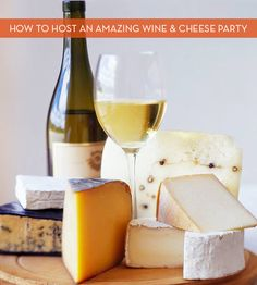 9 Clever Tips For Hosting A Fabulous Wine And Cheese Party. Great advice from Curbly.