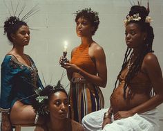 Flowers, pet snakes, and black girl magic. There has been a lot of Afro-witch in pop culture lately, from [Princess Nokia's. Black Girl Magic, Black Girls, Pretty People, Beautiful People, Black Photography, Brown Skin Girls, Black Girl Aesthetic, Afro Punk, Black Power