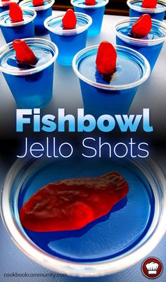 35 Best Jello Shot Recipes To Serve At Your Next Party Best Jello Shot Recipes – Fishbowl Jello Shots – Easy Jello Shots Recipe Ideas with Vodka, Strawberry, Tequila, Rum, Jolly Rancher and Creative Alcohol – Unique and Fun Drinks for Parties like Whiskey Best Jello Shots, Making Jello Shots, Jello Pudding Shots, Summer Jello Shots, Fireball Jello Shots, Birthday Jello Shots, Alcohol Jello Shots, Tipsy Bartender Jello Shots, Barbecue