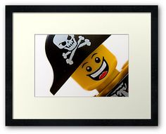Take Close Up Photos of Lego Guys to Frame - What a great idea for a boys room!