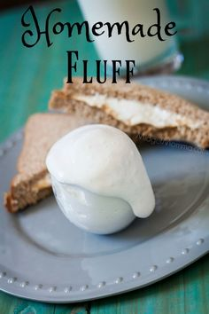 Homemade Marshmallow Fluff. Skip the jarred fluff and make this Homemade Marshmallow Fluff. You will be so happy you did!