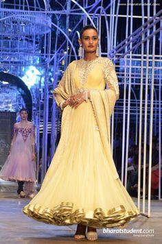Rachel Byros for Tarun Tahiliani at the Aamby Valley India Bridal Fashion Week, 2013