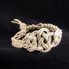 Make it a DIY. Hemp celtic knot bracelet..