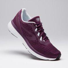 a5c84e5e0f Női cipő hobbi futáshoz Run Support, bordó KALENJI. Femme Qui  CourtChaussures De CourseBasketsMode