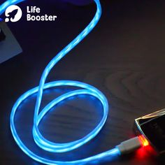 LED Flowing Luminous Phone Charging Cable Meter) is part of Electronics gadgets Led charging cable visualizes the electricity flowing to your phone! Features An additional protective layer has be -