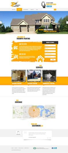 Design the perfect Painting Website by NecAi