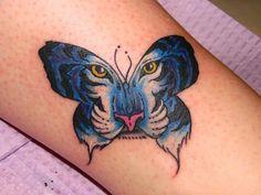Tiger Butterfly Tattoo | Tattoobite.com