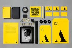 create complete company branding by mahistudio
