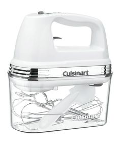 Take a look at this Cuisinart Power Advantage Plus Nine-Speed Hand Mixer today!